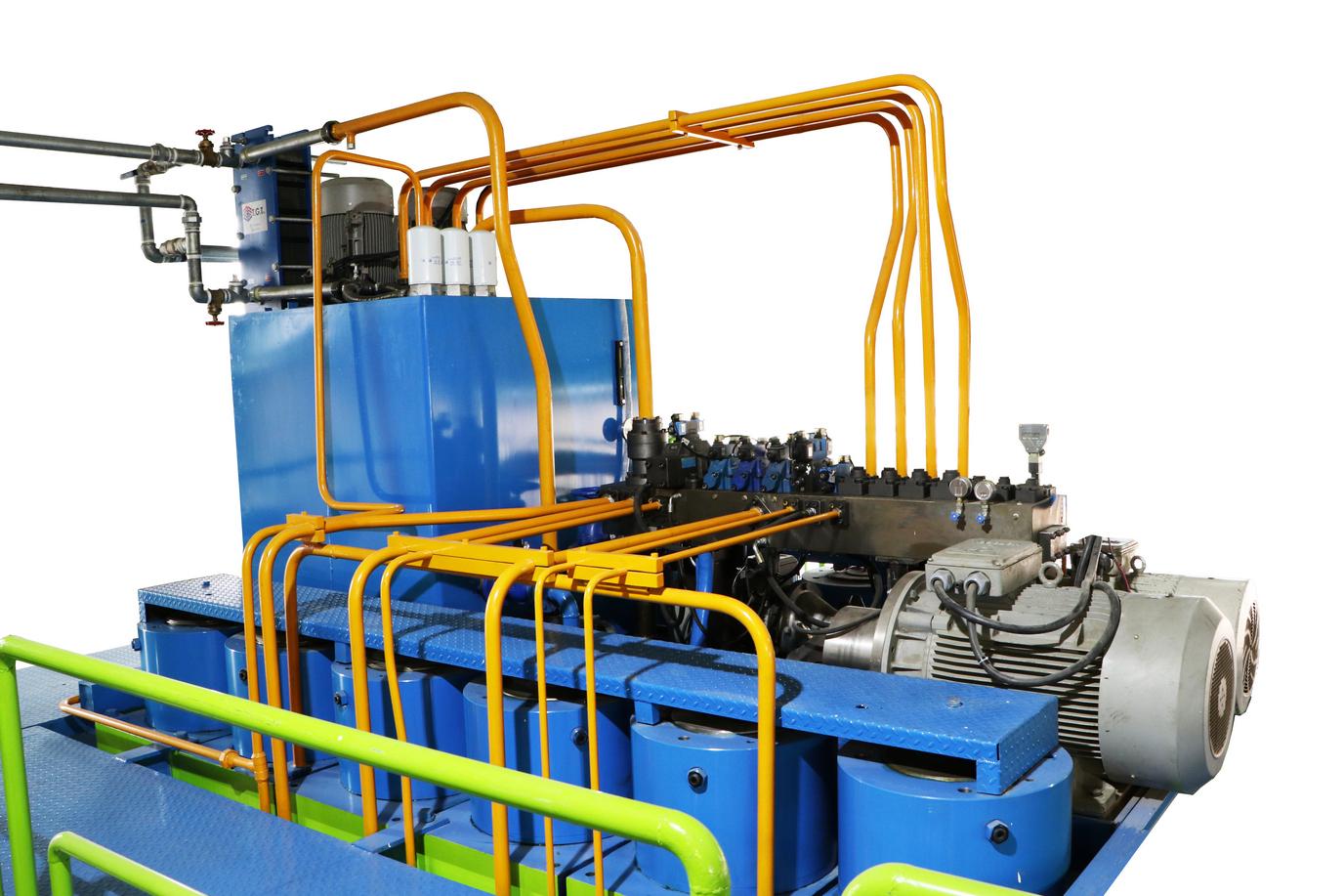پرسهای هیدرولیک (Hydraulic presses)