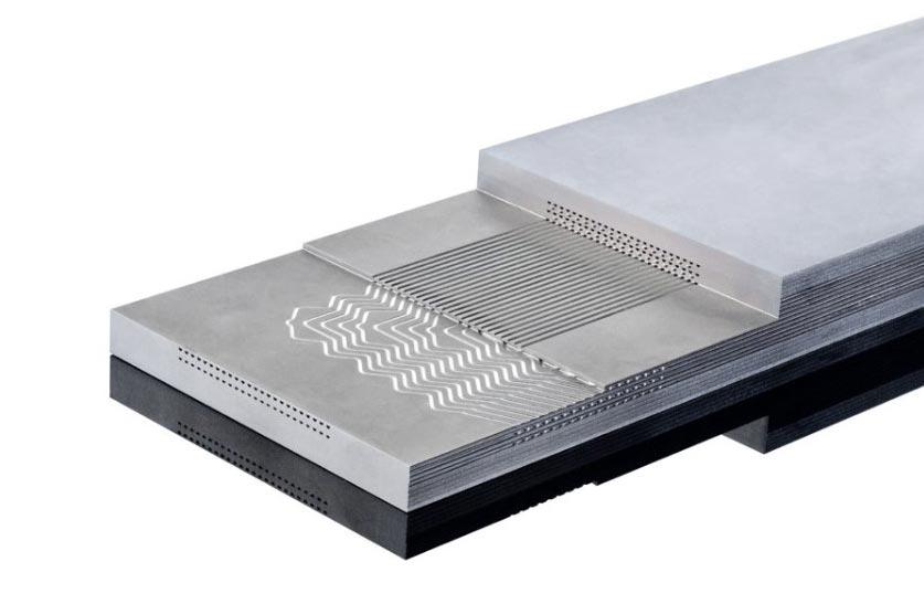 مبدل های حرارتی مدارچاپی (PCHE)